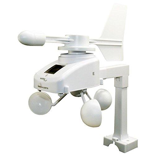 Technoline MA 10660 - Sensor de Viento, con energía Solar, Color Blanco