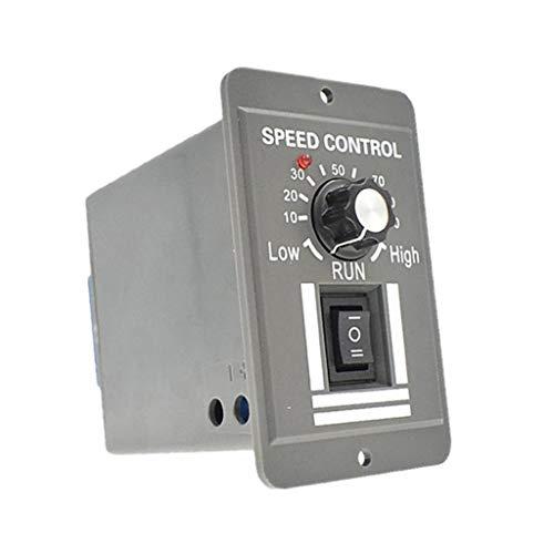 Milageto Controlador de Motor DC12V 24V 36V 48V 20A Controlador Reversible