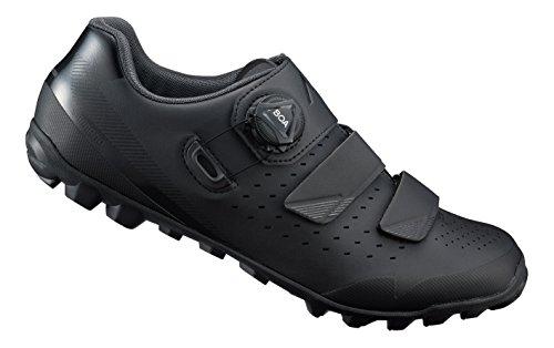 Shimano SH M MTB ME4 T-41, Zapatillas de Ciclismo de Carretera para Hombre, Negro (Negro 000), 41 EU