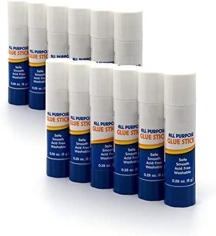 Emraw Premium Small Glue Stick 8 Grams 0 28 Oz Safe Smooth Wrinkle Acid Free Used on Photos product image
