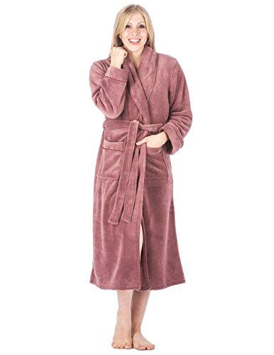 Coral Fleece Plush Spa/Bath Robe $24.99(58% Off)