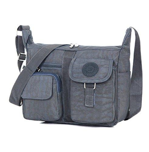 MiCoolker Women's Shoulder Bags Casual Handbag Travel Bag Messenger Cross Body Nylon Bags