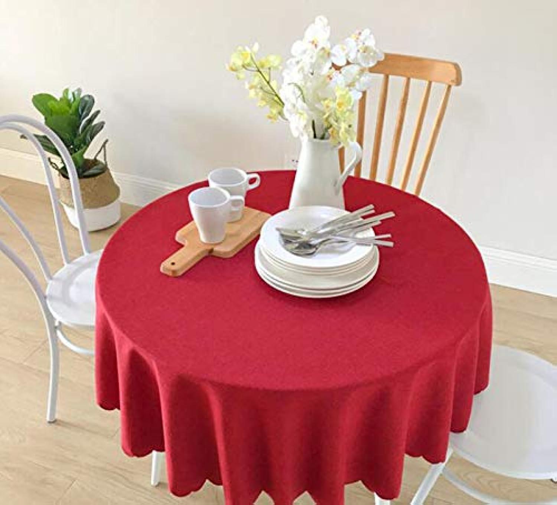 CCGG Runde Tischdecke des Ethnischen Unbedeutenden Festlichen Roten Tischdeckegewebes Der Ethnischen Art Normallack-Speisetischs (größe   110cm) B07HTXB9W5 Zuverlässige Leistung   Angenehmes Aussehen