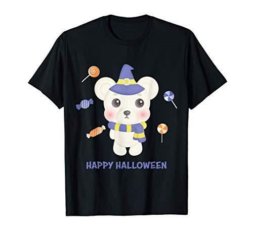 Lindo bebé Oso Divertido disfraz de Halloween de última hora Camiseta