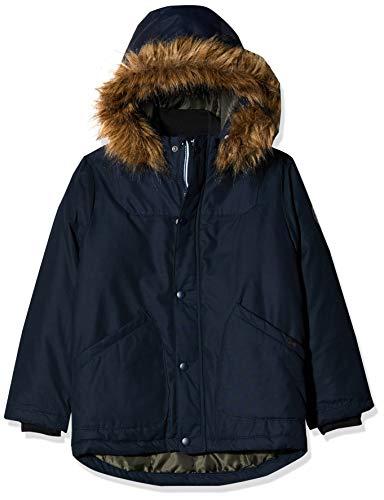 NAME IT Jungen NKMMALIEN Jacket NOOS Jacke, Blau (Dark Sapphire Dark Sapphire), (Herstellergröße: 128)