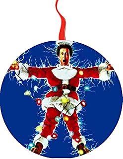 Christmas Vacation Chevy Chase Christmas Tree Holiday Ornament Printed Double- 2 Sided Decoration Great Unisex