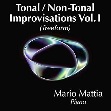 Tonal / Non Tonal Improvisations, Vol. 1: Freeform