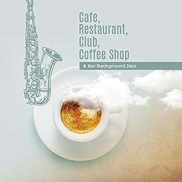 Cafe, Restaurant, Club, Coffee Shop & Bar Background Jazz
