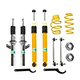 Adjustable Coilover Shocks Compatible Suspension Kit GOLF MK5 MK6 2006-2009 GTI 2003-2007 Golf (Set of 6)