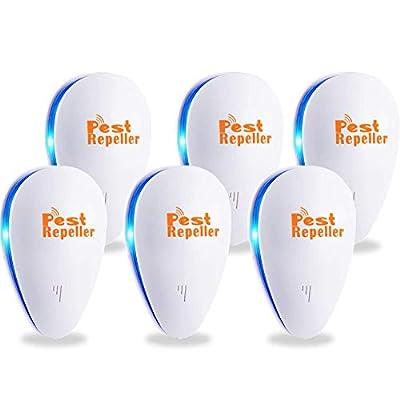 Ultrasonic Pest Repeller 6 Packs, Electronic Pl...