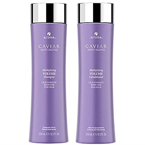 Alterna Caviar Anti Aging Bodybuilding Volume Shampoo and Conditioner Duo, 8.5 Ounce by Alterna