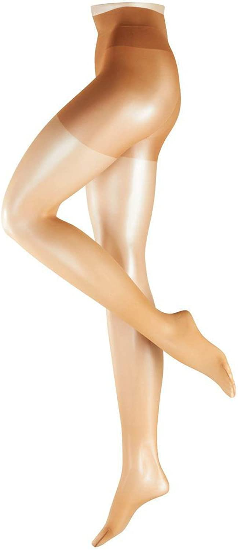 Falke Womens Energize Leg Invisible 15 Denier Transparent Matte Tights  Powder Tan