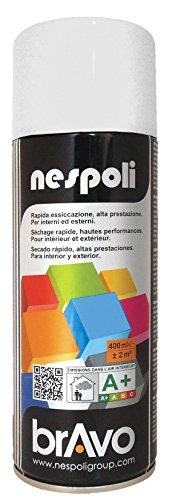 Nespoli Peinture Blanc Neige - Peinture Pro Brillant - 400ml