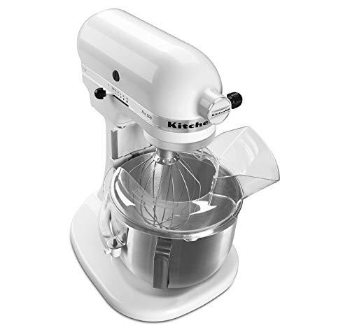KitchenAid Pro 500 Series 10-Speed 5-Quart Stand Mixer, White (Renewed)