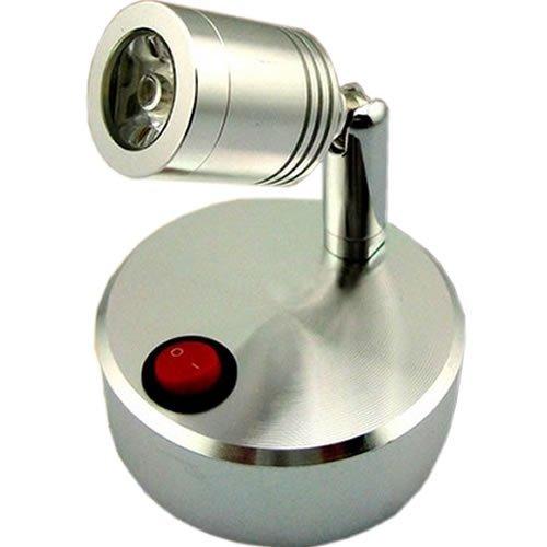 『ZMAYA STAR 間接照明を簡単設置 スポットライト 間接照明 VISTA ヴィスタ 電池式なので配線工事不要 (電球色 イエロー)』の1枚目の画像