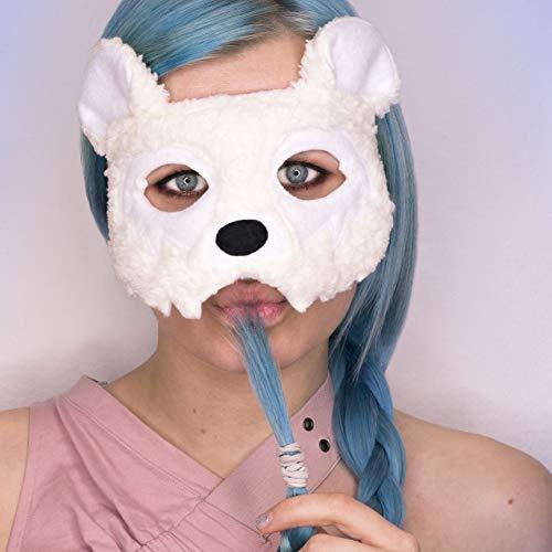 Maske *Polar Bear* - Eisbär Maske | Karneval | Fasching | Bären Kostüm | Cosplay | Halloween