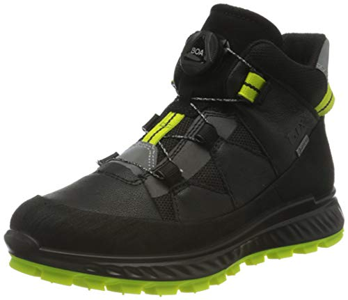 ECCO Exostrike Kids Scar Thar Sneaker, Schwarz (Black/Black), 30 EU