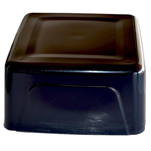 Zeepprofis gietzeep ruwe zeep glycerine zeep - zwart - 1 kg