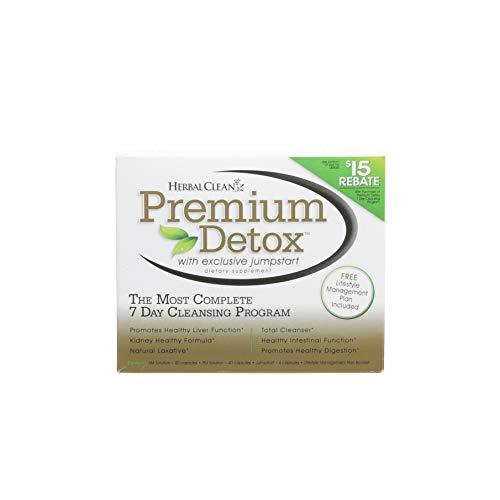 Herbal Clean Premium 7-Day Detox Kit, Detox Capsules, 40 Count
