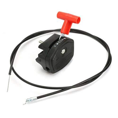 INGHU Gashebel für Rasenmäher, Universalwerkzeug mit Kabel, tragbarer Griff, Ersatzzubehör, leicht, langlebige Teile für Mayitr