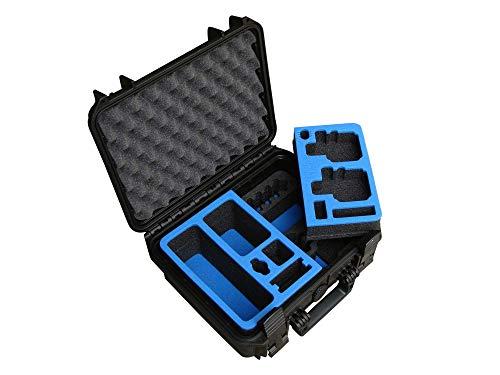 Nieuwe update: professionele transportkoffer voor GoPro Hero 7 / Hero 6 / Hero 5 / Hero 4 camera's en veel accessoires, waterdichte outdoor case IP67 van TOMcase, hardcase.