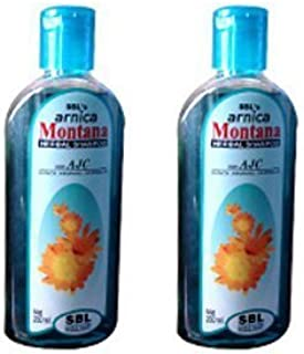 2 pack X SBL's Arnica Montana Herbal Shampoo