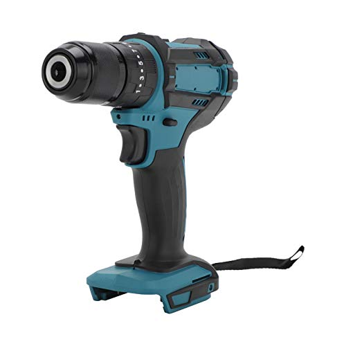 Xpork Screwdriver Lithium Ion Battery Fast Charging Kit Combination Cordless Drill General Electric Drill 18V Blue