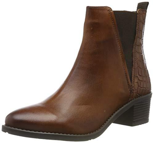 bugatti Damen 4115623B4100 Kurzschaft Stiefel Stiefeletten, Braun (Cognac 6300), 39 EU