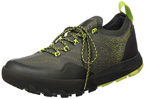 Helly-Hansen Mens Loke Dash 2 Trail Hiking Shoe, 482 Beluga/Wood Green/Azid Lime, 7