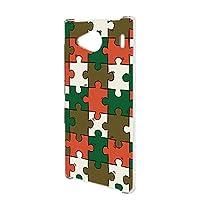 FFANY URBANO V03 (KYV38) 用 スマホケース ハードケース パズル柄・ベーシック おもしろ ゲーム パロディ 京セラ アルバーノ ブイゼロサン au スマホカバー 携帯ケース 携帯カバー puzzle_aao_h190732