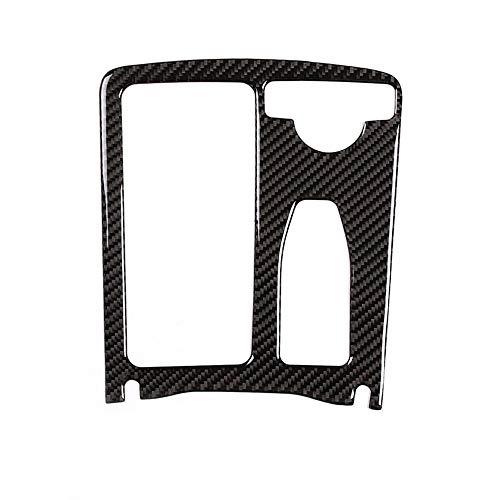 DIYUCAR Carbon Center Console Cup Holder Frame Trim For Benz C class W204 08-14 E Class W212 10-11 E Coupe 10-12 RHD