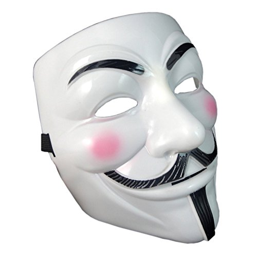 OnceAll V for Vendetta Guy Fawkes Face Mask Fancy Halloween