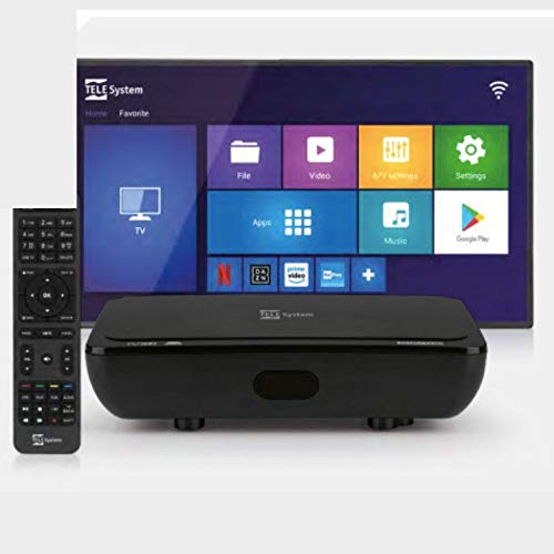 Telesystem TS UP T2HD Cavo HD Nero