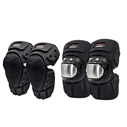perfeclan Almohadillas Protectoras de Codo Y Rodilla Protector de Rodilla Acolchado de Compresión para Brazos Equipo de Protección de Seguridad para Fútbol, v