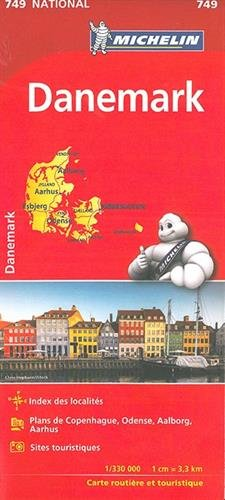 Carte NATIONAL Danemark Michelin