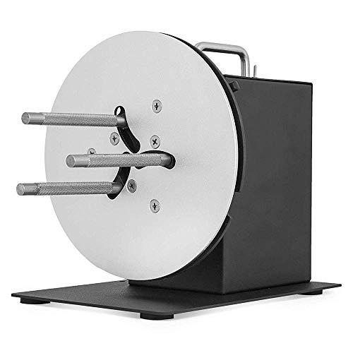 R9 Rewinding Machine 220MM Etikettenaufwickler 1-4 Zoll Kern Automatischer Etikettenaufwickler Mit Drucker synchronisieren