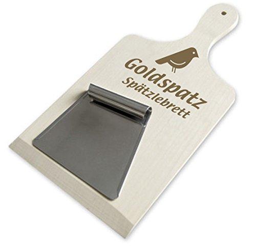 Goldspatz Spaetzle Board & Scraper for Swabian Spaetzle - #2196