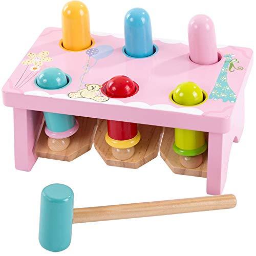 Lihgfw Houten speelgoed van de baby Puzzel Jongens en meisjes 3-6 jaar oude kinderen van de Verlichting Beat Ouder-kind interactief spel Table