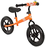 Vilano No Pedal Push Balance bicicleta for Children, Orange
