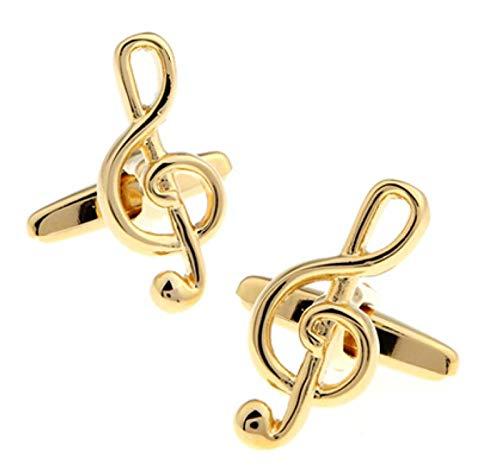 WJCRYPD Guitar Cufflinks Black Music Design Copper Cufflinks Cufflinks Knots For Men Cufflinks Gift Set For Men Qf shop (Color : B)