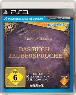 PS3 Wonderbook - Das Buch der Zaubersprüche - nur das Spiel !