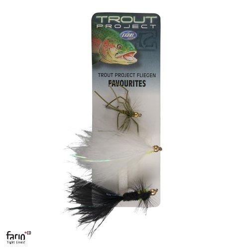 TROUT PROJECT Fliegensortiment FAVOURITES