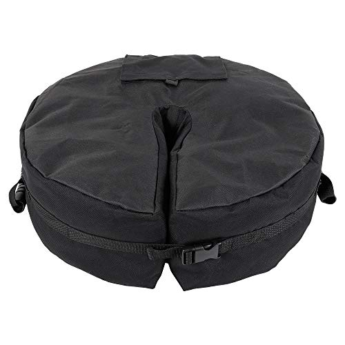 LYYJIAJU Concrete Parasol Base Outdoor Umbrella Base Weight Bag Sunshade Parasol Base Bag Heavy Duty Detachable Round Sand Bag for Patio Cantilever Umbrellas
