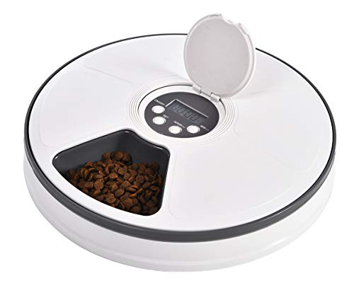Ancaixin 6-Meal Automatic Pet Feeder