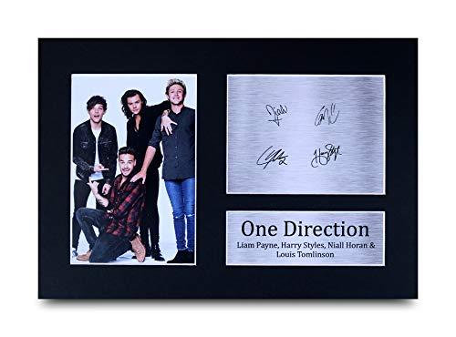 HWC Trading One Direction A4 Ungerahmt Signiert Gedruckt Autogramme Bild Druck-Fotoanzeige Geschenk Für Harry Styles Louis Tomlinson Liam Payne Niall Horan Musik-Fans