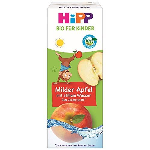 HiPP Bio-Apfelsaft mit stillem Wasser, 15er Pack (15 x 200 ml)