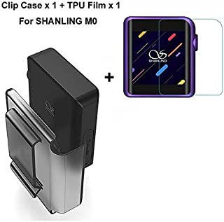 SHANLING M0 Case,Clip Case for SHANLING M0 HiFi Portable MP3 Player with Screen Protector for SHANLING M0