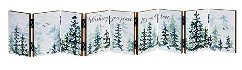 Ganz Wishing You Peace Joy and Love Accordion Signs, 9 Panels