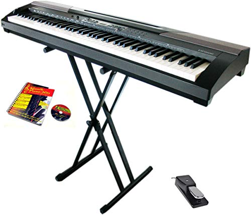 Clifton Piano de stage avec pédale de...