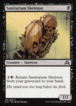 Magic The Gathering - Sanitarium Skeleton (133/297) - Shadows Over Innistrad